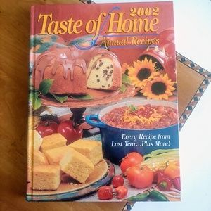 Other - Taste of home annual recipes 2002